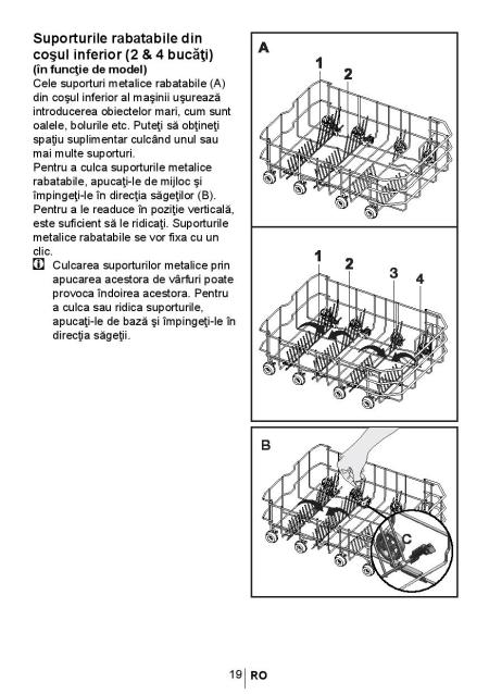 Manual de utilizare masina de spalat vase Beko DSFS4530